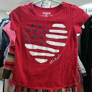 Girls sz 3T Oshkosh shirt
